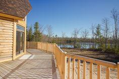 www.CCHFI.com Chase Custom Homes & Finance Maine New Home Construction Log Home