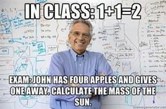 Engineering in a nutshell.