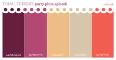 Seriously feeling this crazy color scheme: plums, neutrals & a fabulous coral. This feels like a party dress with gold sparkles to me. Colour Pallette, Colour Schemes, Color Combos, Wedding Color Pallet, Wedding Colors, Living Room Inspiration, Color Inspiration, Navy Living Rooms, Dusty Rose Color