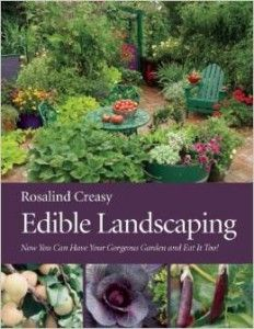 Organic Gardening Ideas Edible Landscaping - Offers advice on how to plan and maintain landscaping in any climate using attractive edible plants such as fruit trees, grape vines, and herbs, with a special section on designing for small spaces. Edible Plants, Edible Garden, Edible Flowers, Gardening Books, Gardening Tips, Gardening Websites, Arizona Gardening, Flower Gardening, Gardening Supplies