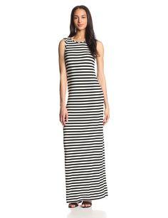 KAMALIKULTURE Women's V-Back Maxi Dress