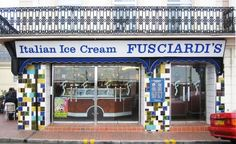 Fusciardis Ice Cream Parlour, Eastbourne Great Places, Places Ive Been, Seaside Restaurant, Italian Ice Cream, Parlour, East Sussex, England, Restaurants, Google Search