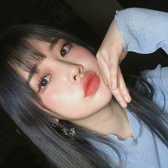 New Hair Color Korean Ulzzang Ideas Korean Makeup Look, Asian Makeup, Korean Beauty, Asian Beauty, Uzzlang Makeup, Makeup Brushes, Makeup Ideas, Make Up Looks, Peach Lips