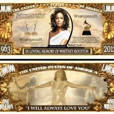 Whitney Houston .... Million Dollar Bill