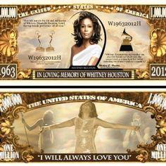 Bills Whitney Houston