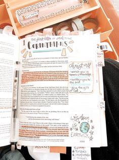 Bible Study Notebook, Bible Study Journal, Scripture Study, Bible Art, Art Journaling, Bible Doodling, Bible Verses Quotes, Bible Scriptures, Bible Studies