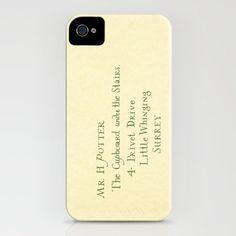 Mr. Harry James Potter - Hogwarts Invitation/Letter iPhone Case by Pixie Sticks | Society6