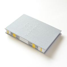 A6 travel journal in light grey THERE AND BACK AGAIN