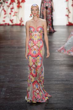 58 of the Prettiest Dresses From New York Fashion Week Spring 2015  - ELLE.com