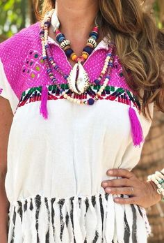 Tribal Cowrie Necklace | Surf