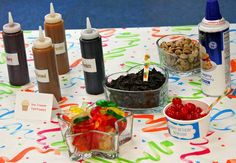 Ice Cream Party Toppings #icecream #topppings