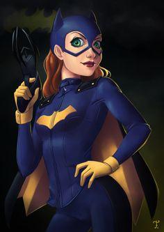 Batgirl, an art print by Fernanda Rodrigues Batgirl And Robin, Batman And Batgirl, I Am Batman, Batman Robin, Marvel Comic Character, Comic Book Characters, Batwoman, Nightwing, Cosplay Dc