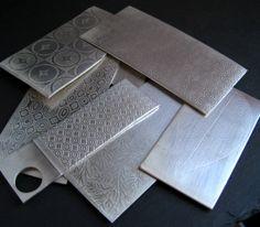 Rolling Mill Textures On Metal - Textures con il laminatoio