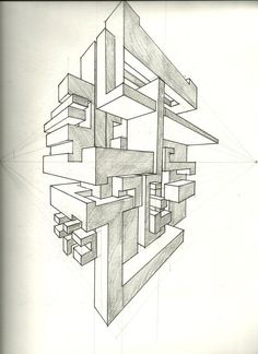 two point perspective: