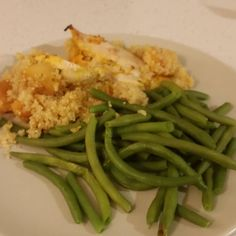 Baked #Chicken with #quinoa #Apricots #greenbeans #RealFood #Warrior20 #TFW4LIFE
