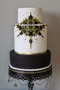10 Old Hollywood Glamour Cakes Photo. Awesome Old Hollywood Glamour Cakes image. Black White and Gold Birthday Cake Old Hollywood Glam Wedding Cake Vintage Hollywood Glamour Wedding Elegant Hollywood Cake Ideas Hollywood Themed Wedding Cake Black And Gold Cake, Black And White Wedding Cake, Black Wedding Cakes, Themed Wedding Cakes, Red Black, Black Gold, Old Hollywood Cake, Old Hollywood Wedding, Hollywood Theme