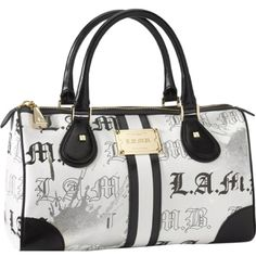 L A M B Lamb Bags Gwen Stefani Purses And Handbags Cobalt Satchel Sparkle