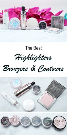 Best Highlighters, Bronzers and Contours for Summer. All cruelty free and most are vegan