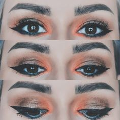 """129 Likes, 2 Comments - ∆ Casandra ∆ (@casandrasy) on Instagram: """"Love that combo #makeup #style #eyes #colors #fall #warm #eyeshadow #beautiful"""""""