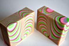 Stripe soap