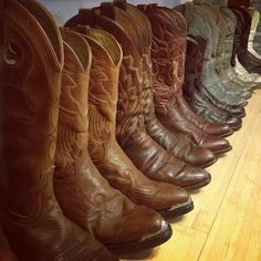 $29 vintage men and womens cowboy boots via boutiika.com... want to keep this in mind for when I need to buy them @Loretta Janae