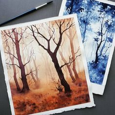 What is Your Painting Style? How do you find your own painting style? What is your painting style? Painting Inspiration, Art Inspo, Painting & Drawing, Watercolor Paintings, Watercolors, Watercolor Trees, Watercolor Artists, Watercolor Portraits, Art Aquarelle