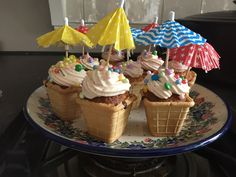 Zomerse cupcakes. Rudolfs!