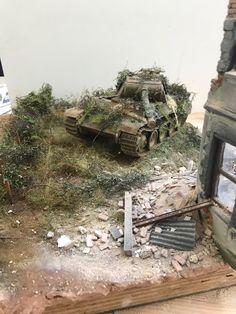 Model Tanks, Diorama Ideas, Wooden Ship, War Image, Military Diorama, Tamiya, Model Ships, World War Two, Scale Models