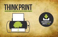 Todos necesitamos imprimir pero seguimos sin imprimir las páginas que realmente necesitamos, por eso en Tiempo BBDO hemos creado una aplicación gratuita que te recordará cada vez que imprimas, que lo hagas de forma respetuosa con el planeta.