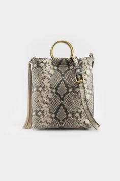 Nela Metal Ring Snake Tote Metal Ring, Fall Looks, Snake, Michael Kors, Handbags, Black And White, Rings, Pattern, Shopping