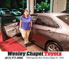 Congratulations to Danielle Pascarella on your #Honda #Cr-V purchase from Andy Ghelfi at Wesley Chapel Toyota! #NewCar