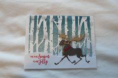 Ti Holtz Birch Tree and Christmoose dies Tis The Season, Homemade Cards, Birch, Christmas Cards, Seasons, Art, Xmas Cards, Craft Art, Diy Cards