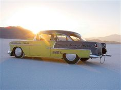 Vintage Salt Flat Racers | ... is Bonneville Salt