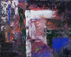 """Blue Door by Donald Fox Oil ~ 24"""" x 30"""""""