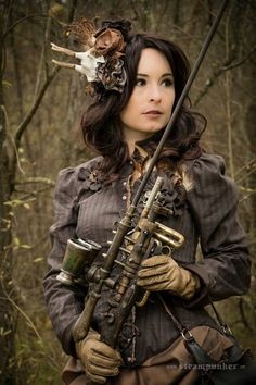 Steampunk girl #Provestra #Skinception #coupon code nicesup123