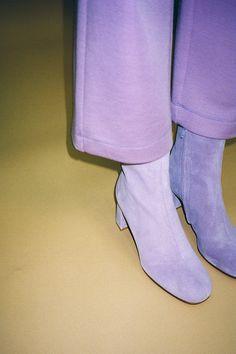 MARYAM NASSIR ZADEH   Agnes Boot - Iris Suede
