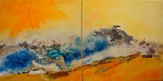 go with the flow 2 | 2005 | 50 x 100 cm