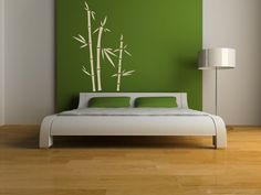 Wall Decal Bamboo Botanical Organic Plant by WallStarGraphics