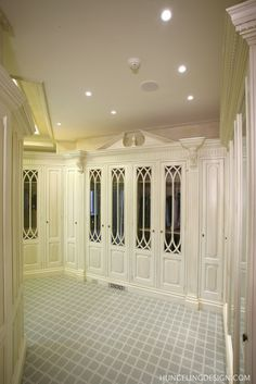 Clive Christian Dressing Room - Chattanooga, TN by Hungeling Design