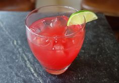 RECIPE: Highland Heart (makes one cocktail); 1½ ounces Virginia Highland Malt Whisky; 1 ounce lime juice; *1 ounce brown sugar simple syrup; 4 ounces cranberry juice; Dash Luxardo cherry juice or cherry bitters; Lime wedge to garnish; 1. Combine ingredients over ice and stir.  2. Garnish with lime slice and serve.  *Visit our website to learn how we make our brown sugar simple syrup in house!
