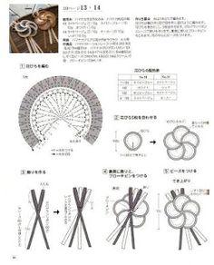 broches en crochet...tutorial