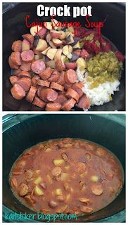 21 Day Fix approved, food that helps you lose! For Me: Crockpot Cajun Sausage So… 21 Day Fix approved, food that helps you lose! For Me: Crockpot Cajun Sausage Soup Cajun Sausage, Sausage Soup, Hot Sausage, Slow Cooker Recipes, Cooking Recipes, Healthy Recipes, Healthy Menu, Healthy Dinners, Healthy Foods
