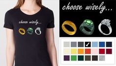 Just ordered this shirt from @WhenGeeks Wed. Can't wait to wear it proudly! Also, I'd pick the Green Lantern ring.