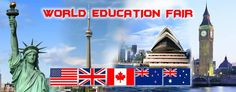 WORLD EDUCATION FAIR ( 4TH JUNE, HOTEL TAJ BANJARA( ANJUMAN A AND B HALLS)11-5PM For Free Registration to visit our World Education Fair taking place in Hyderabad on the 4th of June, please register Free. website www.worldeducationfair.co.in