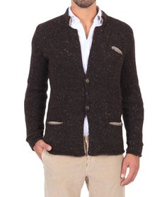 Giacca in lana Roberto Collina    198 E
