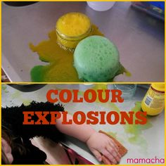 Everything Mama: COLORFUL EXPLOSIONS