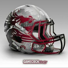 best 25 south carolina gamecocks ideas on College Football Helmets, Football Tops, Football Design, Football Uniforms, Football Stuff, South Carolina Gamecocks Football, Gamecock Nation, Futuristic Helmet, Go Gamecocks