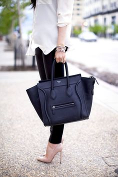 Celine dream purse and louboutins. What more does a girl need.