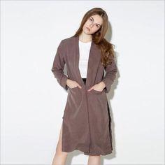 Office Lady Style British Feminino Long Coat LAVELIQ