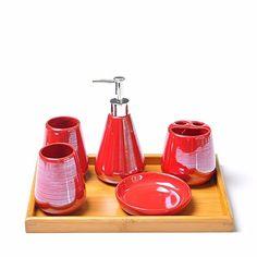 WYMBS Christmas gift simple Europeanstyle ceramic bathroom toiletriesI